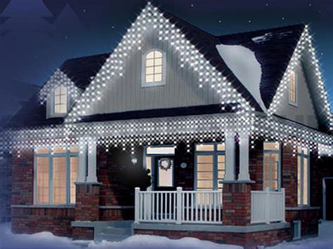 lights icicle outdoor new 720 led snowing icicle bright wedding
