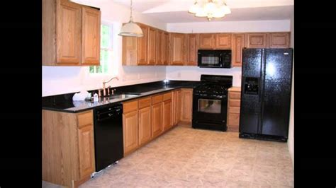 black kitchen cabinets with black appliances kitchen kitchen color ideas with oak cabinets and black