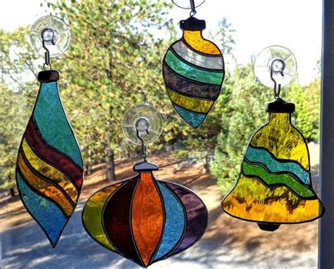 stained glass ornament best 25 stained glass ideas on