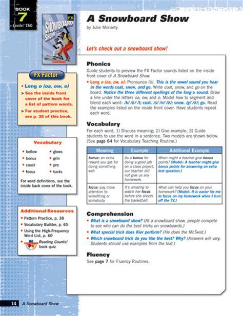 lesson plans for picture books phonics fluency for readrs grades 6 12