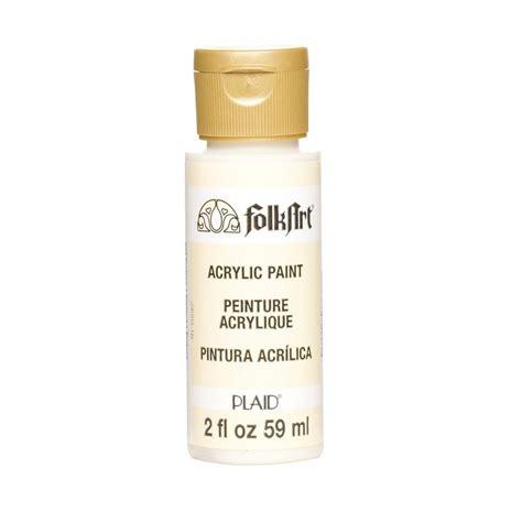 folk acrylic paint 2 oz folkart 2 oz tapioca acrylic craft paint 903m the home