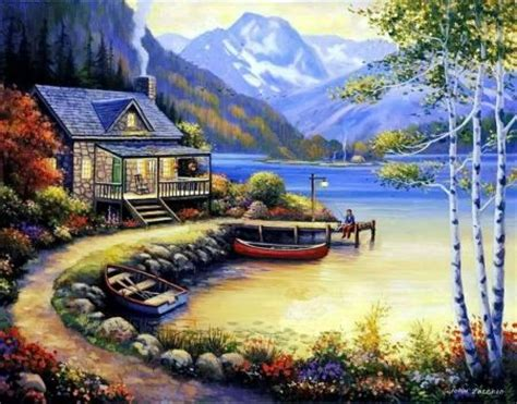 bob ross painting dock 1000 images about ideas for painting on bob