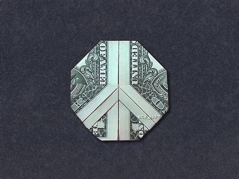 origami dollar sign peace sign money origami dollar bill origami