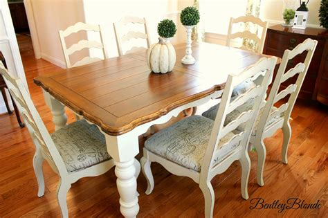 chalk paint dining room table bentleyblonde diy farmhouse table dining set makeover