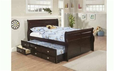 size bed trundle trundle bed frame size