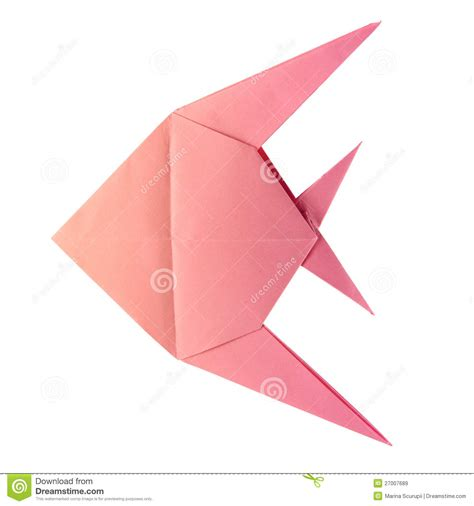 tropical fish origami origami tropical fish royalty free stock images image