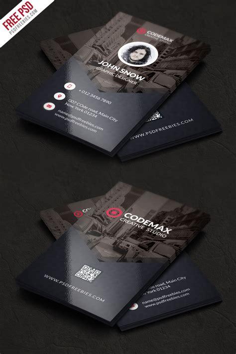 card free modern business card free psd template psdfreebies
