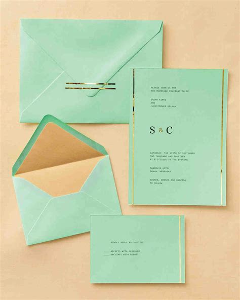 how to make green card easy ways to upgrade your wedding invitations martha