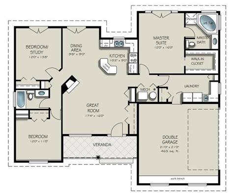 houses plans craftsman style house plan 3 beds 2 baths 1550 sq ft