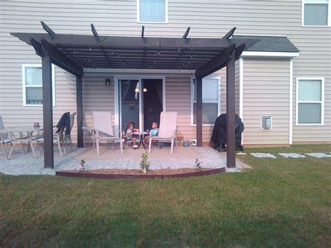 extend patio with pavers patio pavers concrete patio design ideas
