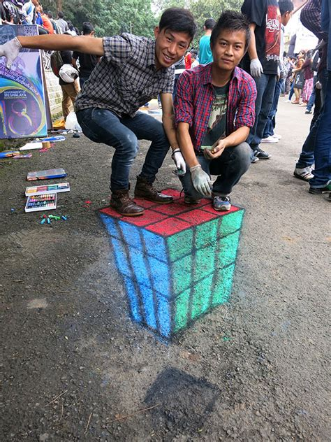 chalk paint adalah mengenal 3d painting pavement of mankind