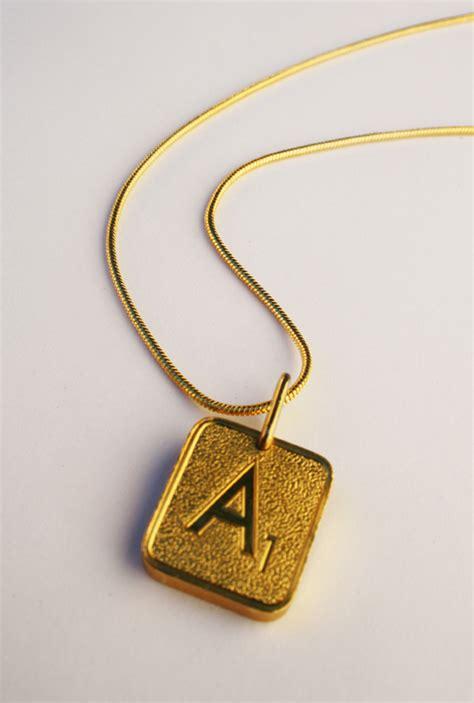 scrabble necklaces gold plated scrabble necklace 163 45 shizzle
