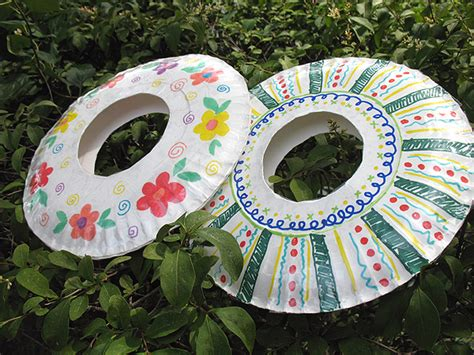 paper plate crafts for summer recycling paper summer c for paper plate