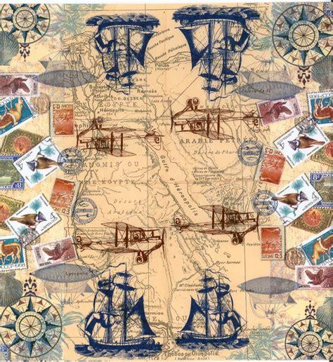 decoupage world decoupage paper napkins of vintage travel world map