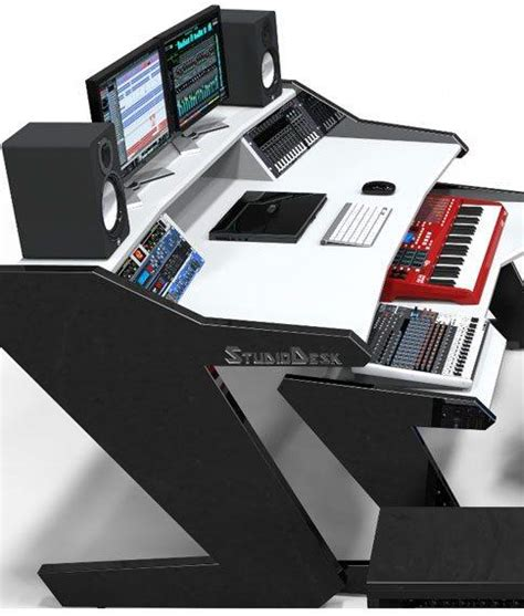 home studio desk workstation home studio desk workstation furniture