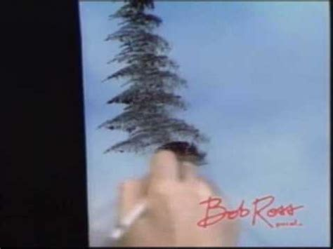 Bob Ross Painting An Evergreen Tree