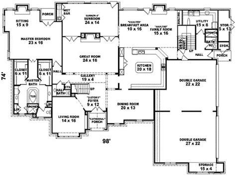 6 bedroom house designs 7700 square 6 bedrooms 4 batrooms 4 parking space