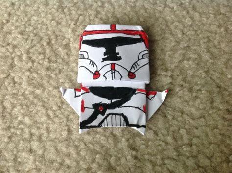 origami clone trooper the republic clone trooper origami yoda