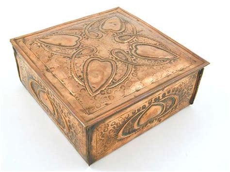 arts and crafts box for hayle arts crafts copper box