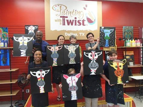 paint and twist dallas painting with a twist phone 469 250 1058 dallas tx