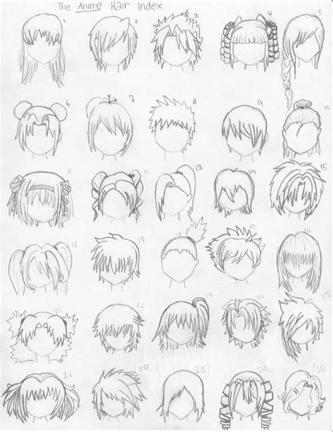 how to draw anime every thing