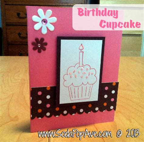 how to make birthday card for one dozen card ideas soda pop avenue