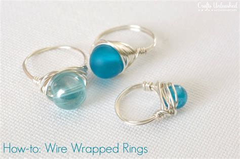 how to make wire wrapped jewelry wire rings tutorial how to make wire wrapped bead rings