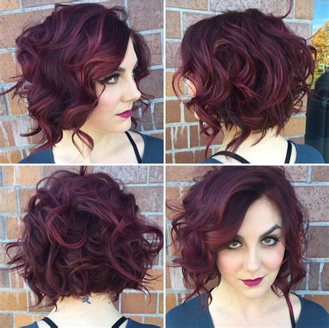 stacked bob haircut pictures curly hair short stacked curly bob hairstyles short hairstyle 2013