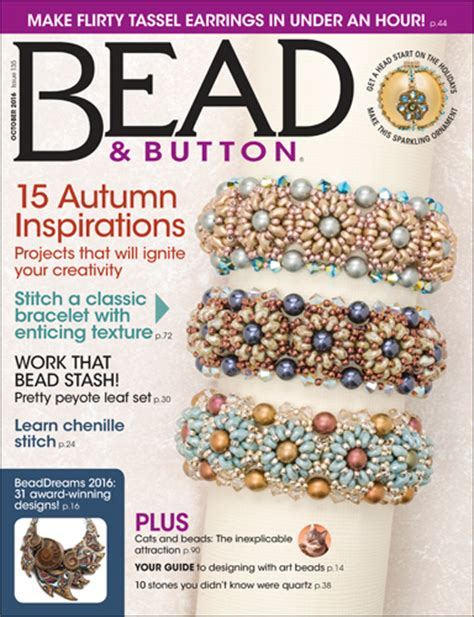 bead and button october 2016 resource guide facet jewelry