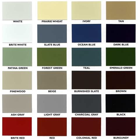 paint colors at menards siding colors outdoor