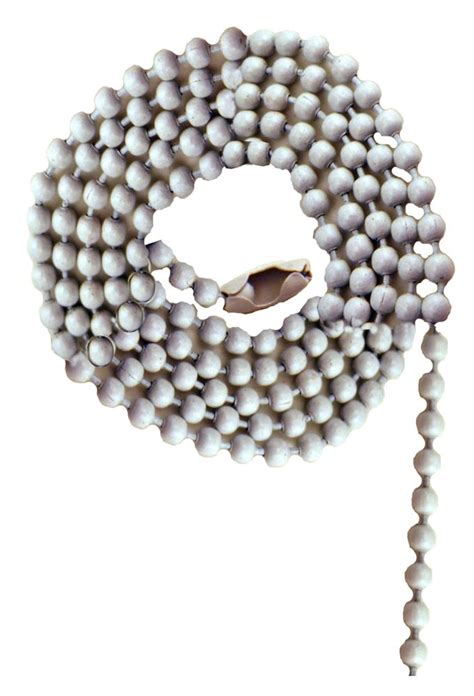 beaded chain connector atron white beaded chain with connector 36 inch 91 4 cm