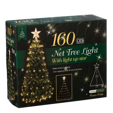 net lights for tree b m 160 led tree net light with 2819191