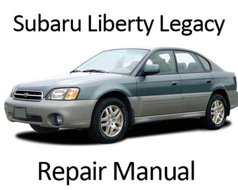 manual repair free 1994 subaru impreza engine control subaru liberty legacy outback 1994 1999 repair manual
