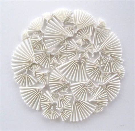 crafts with white paper 17 best ideas about paper fan decorations on
