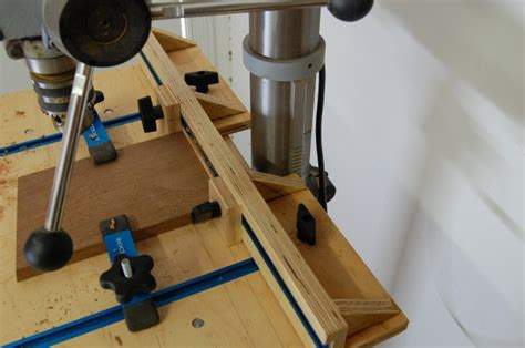 woodworking press drill press table the apprentice and the journeyman
