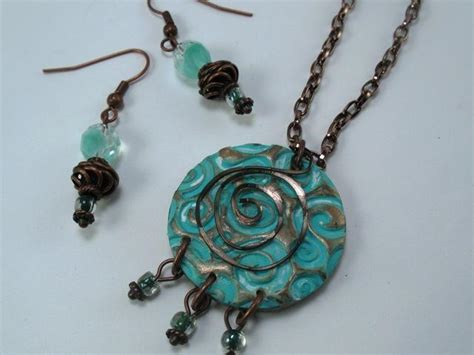 clay jewelry ideas you to see polymer clay pendant by pam lopiccolo