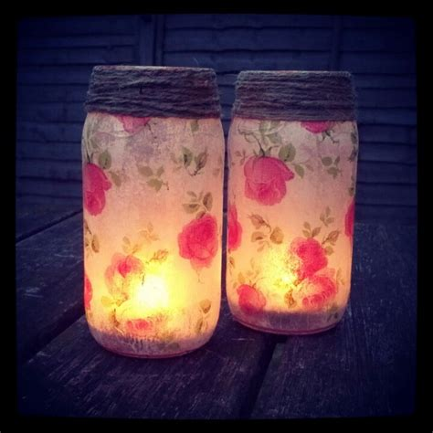 decoupage candle jars from dolmio to vintage decoupaged jars with napkins with