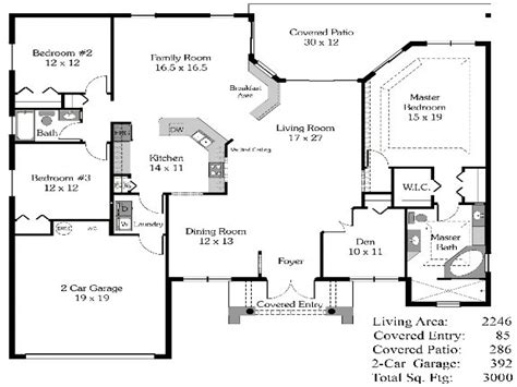 4 bedroom floor plans 4 bedroom house plans open floor plan 4 bedroom open house