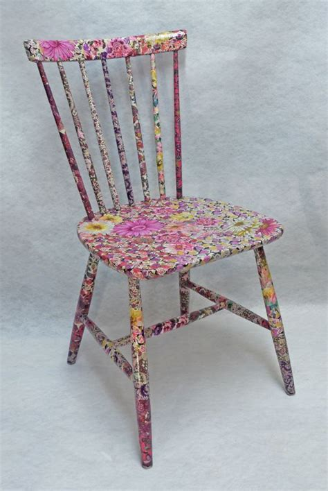 decoupage furniture with paper 25 unique decoupage chair ideas on diy
