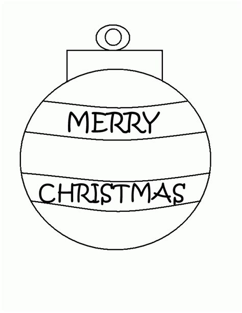 ornament coloring sheets free printable ornaments coloring home