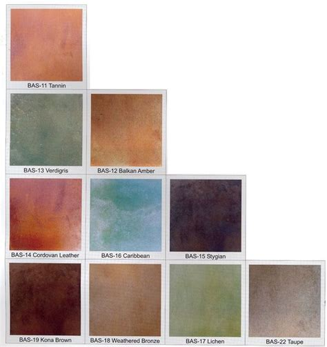 sted tin backsplash concrete stain colors 28 images precision acid stain