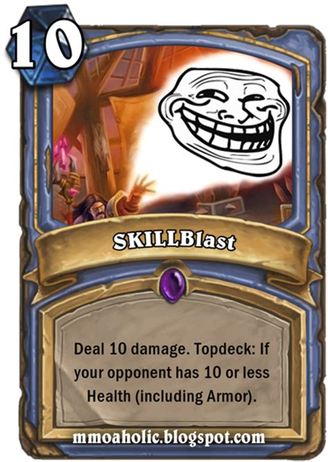 make hearthstone card the mmoaholic mmorpg madness hearthstone quot elite skills