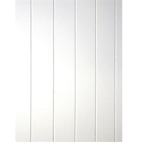home depot bead board 32 sq ft beadboard white v groove panel 109693 the