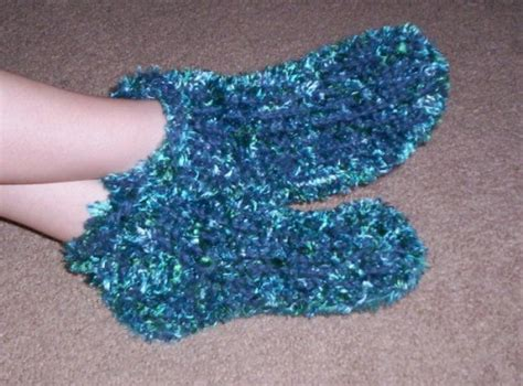 loom knitting socks chunky slipper socks loom knitting pattern