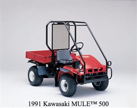Kawasaki Mule Utv by Kawasaki Mule Celebrates 30 Years Utv Guide