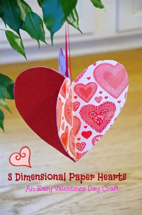 simple paper craft ideas for adults this easy valentines day craft idea is for both adults