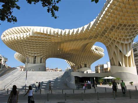 metropol parasol самая большая деревянная конструкция в мире