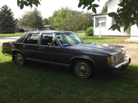 manual cars for sale 1988 ford ltd crown victoria electronic throttle control 1988 4 door automatic transmission ford ltd crown victoria for sale in platte south dakota