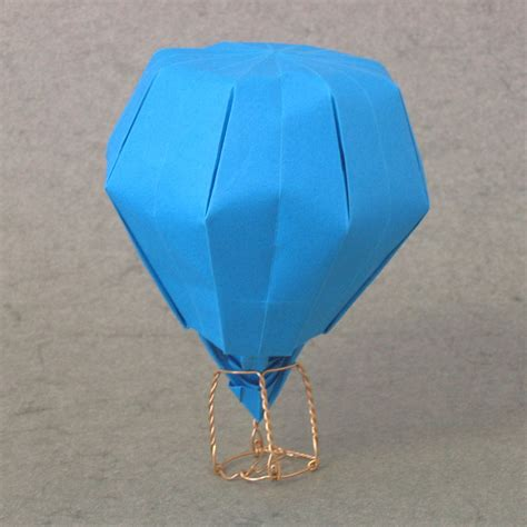 how to make an origami balloon zing origami objects and things