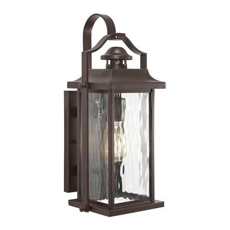 lowes outdoor lighting fixtures shop kichler linford 17 24 in h olde bronze medium base e